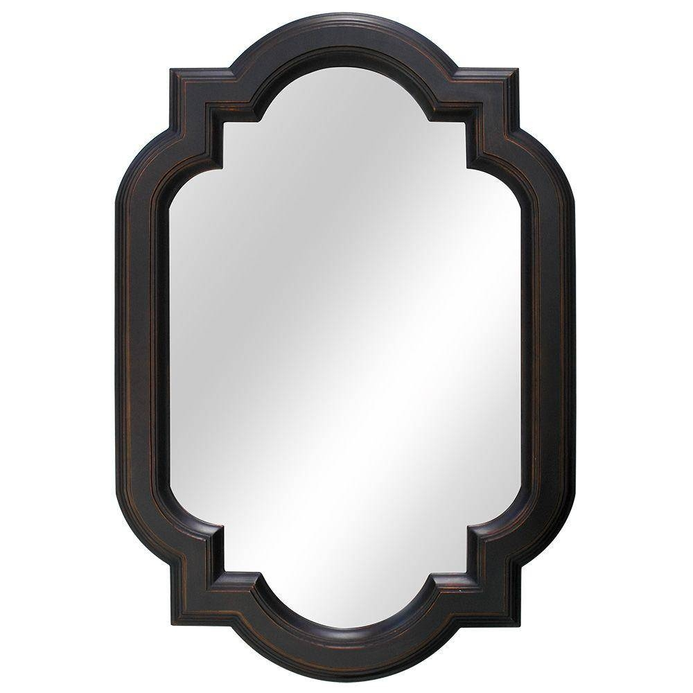 Home Decorators Collection 22 In. W X 32 In. L Framed Fog Free inside Bronze Wall Mirrors (Image 9 of 25)