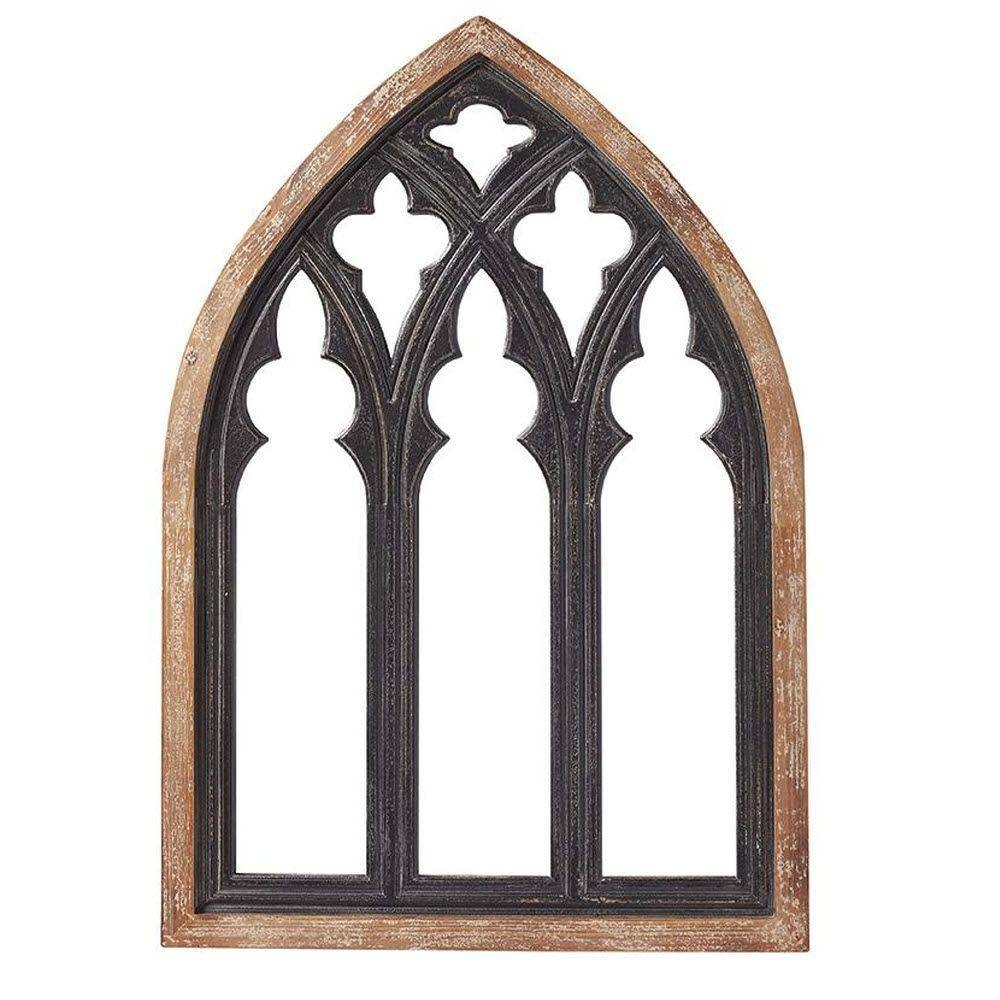 Home Decorators Collection 43.25 In. H X 30 In. W Cathedral Framed with regard to Gothic Wall Mirrors (Image 19 of 25)