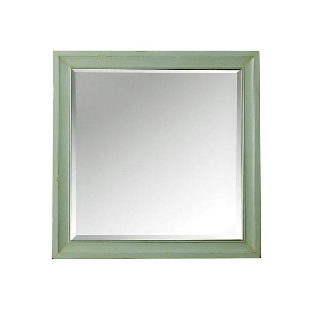 Home Decorators Collection Hazelton 30 In. W X 30 In. H Single in Square Wall Mirrors (Image 12 of 25)
