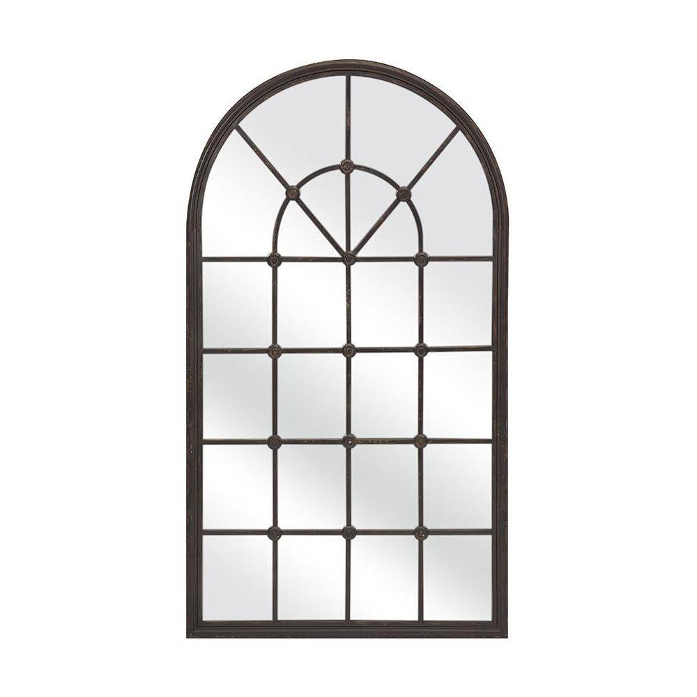 Home Decorators Collection Powell 50 In. X 28.5 In. Iron Framed in Iron Framed Mirrors (Image 13 of 25)