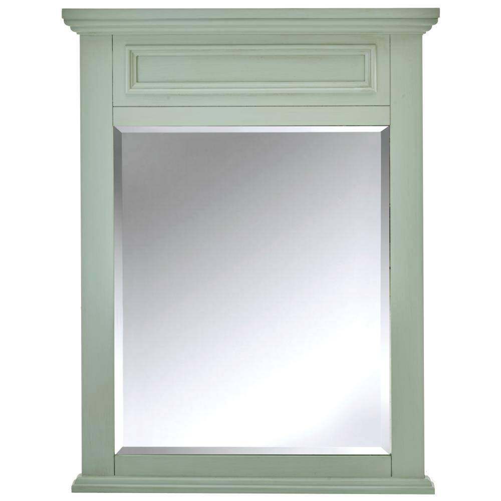 Home Decorators Collection Sadie 28 In. W X 36 In. H Single Framed inside Antiqued Wall Mirrors (Image 16 of 25)