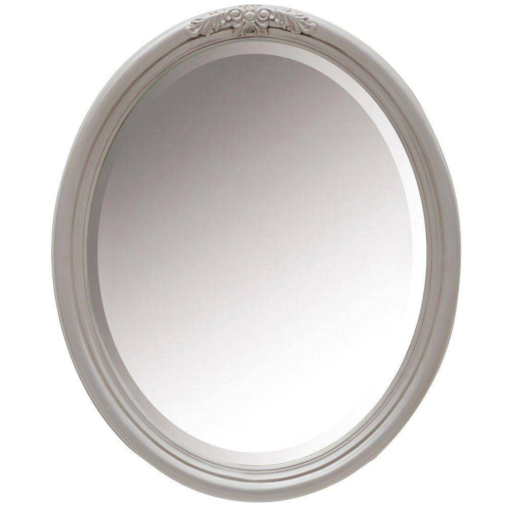 Home Decorators Collection Wellington 34 In. H X 28 In. W Oval in Oval Wall Mirrors (Image 12 of 25)