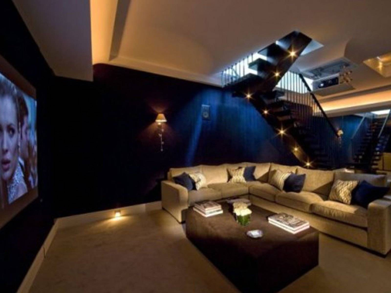 Home Furniture : Modern Apartment Theater Room Furniture Australia for Theater Room Sofas (Image 8 of 30)