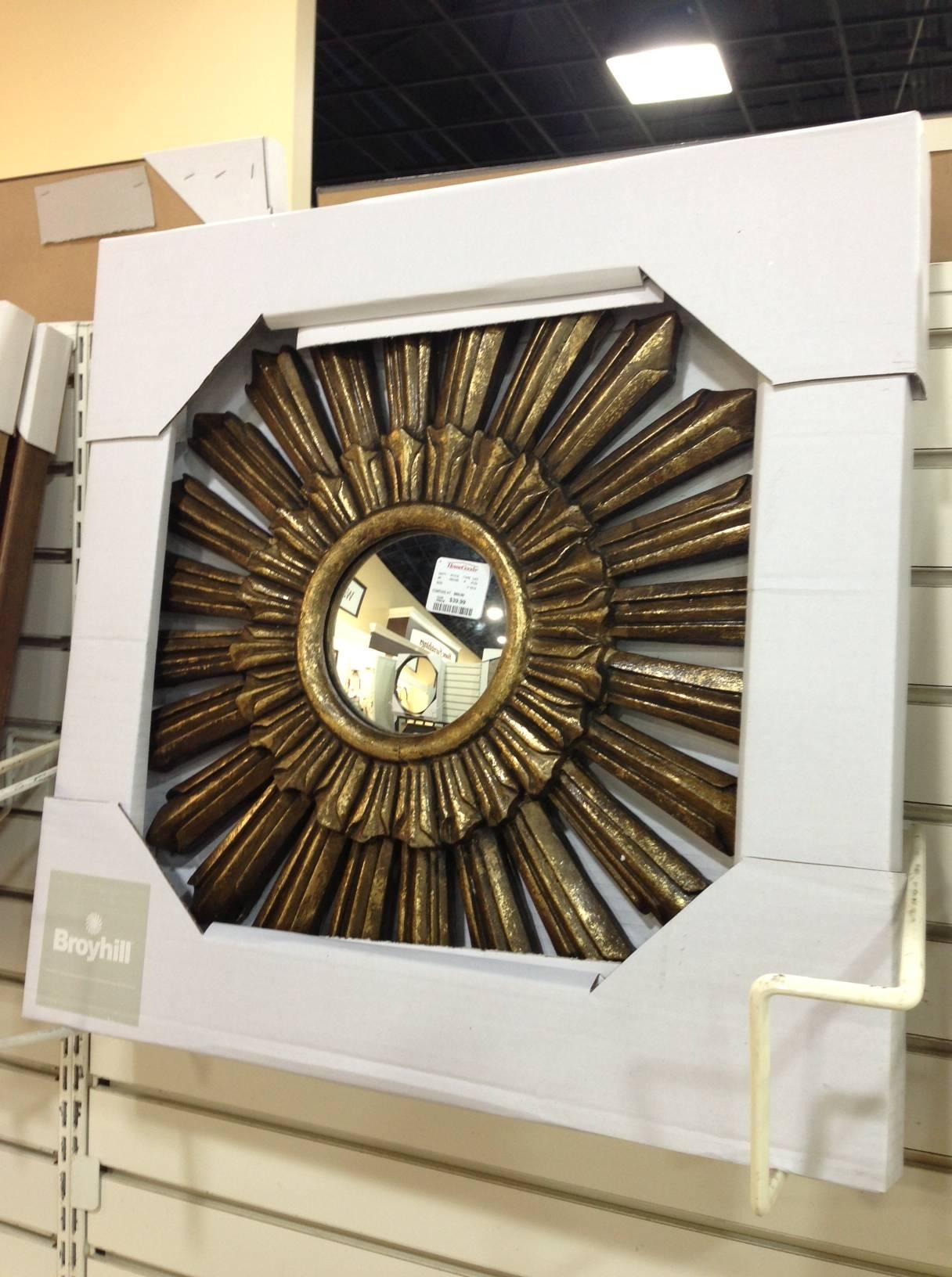 Home Goods Sunburst Mirror – Harpsounds (View 12 of 25)