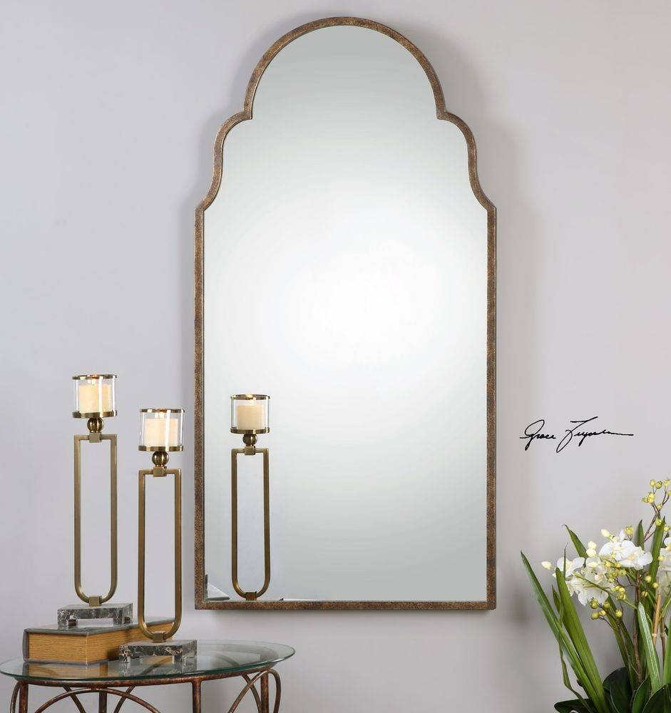 Home Home Accessories Mirrors Rose Heart Mirror Uttermost Um11912B with regard to Unusual Shaped Mirrors (Image 8 of 25)