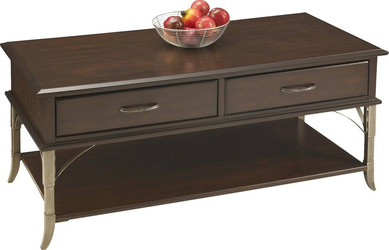 Home Styles Bordeaux Coffee Table & Reviews | Wayfair inside Bordeaux Coffee Tables (Image 18 of 30)