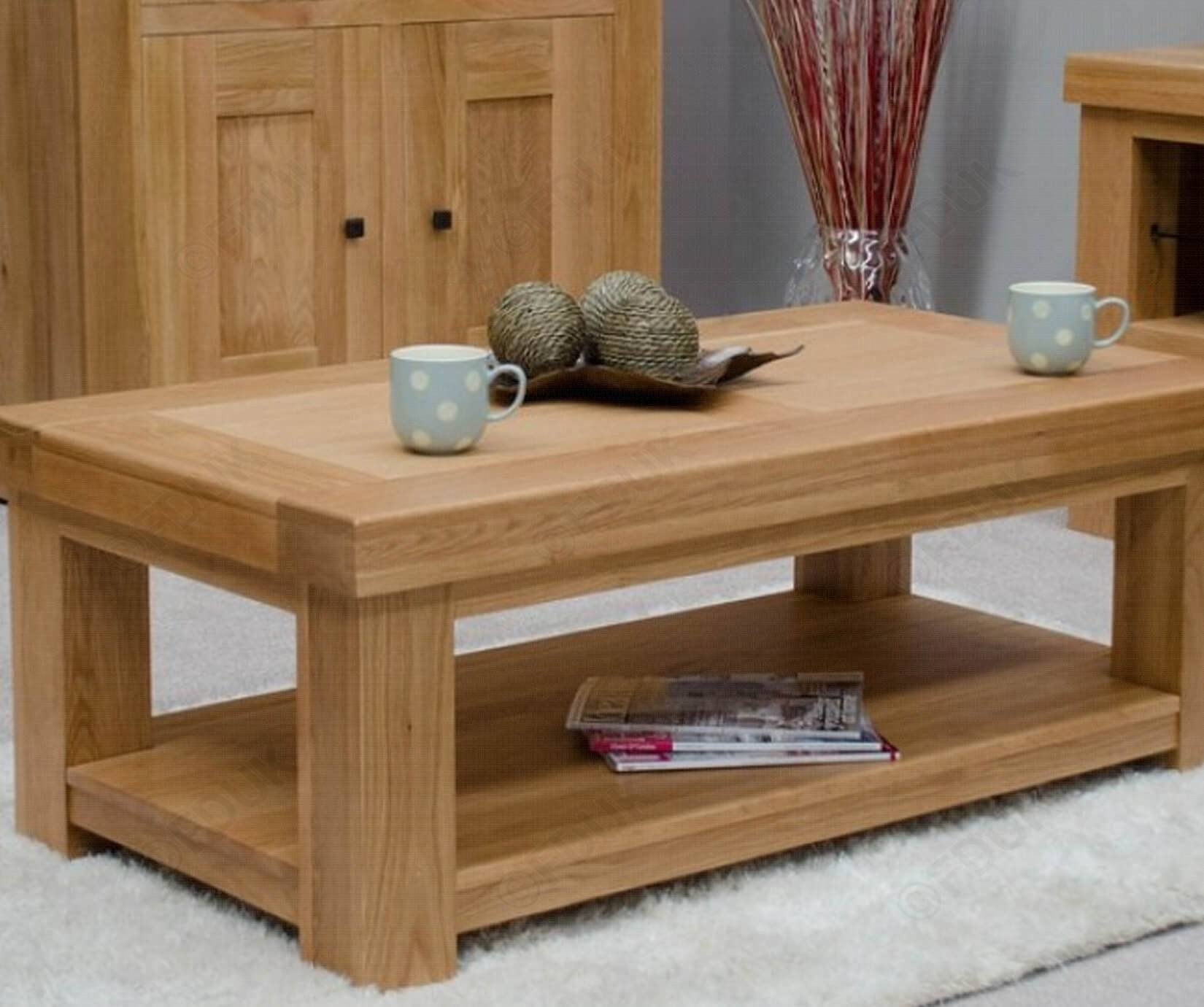 Homestyle Gb | Bordeaux Oak Coffee Table | Furnituredirectuk pertaining to Bordeaux Coffee Tables (Image 19 of 30)