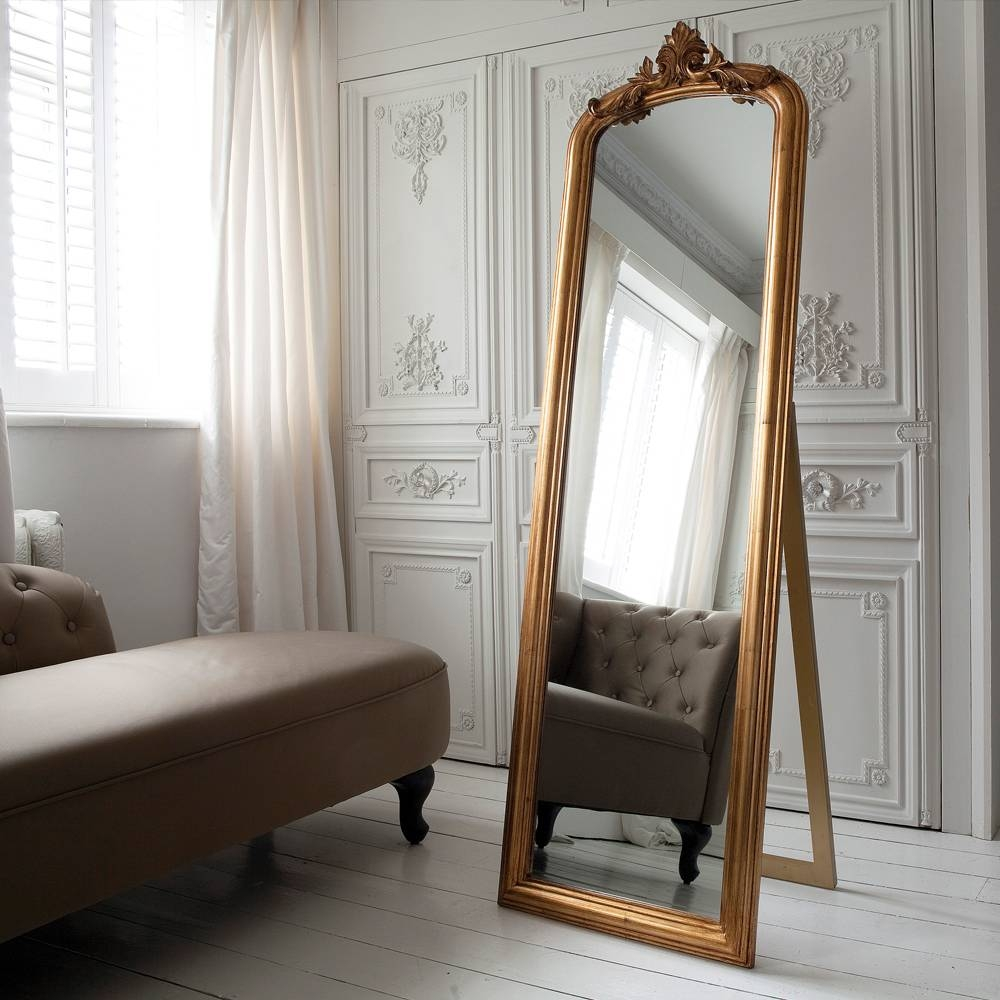 Homeware: Full Length Mirror On A Stand | Floor Length Wall throughout French Full Length Mirrors (Image 21 of 25)