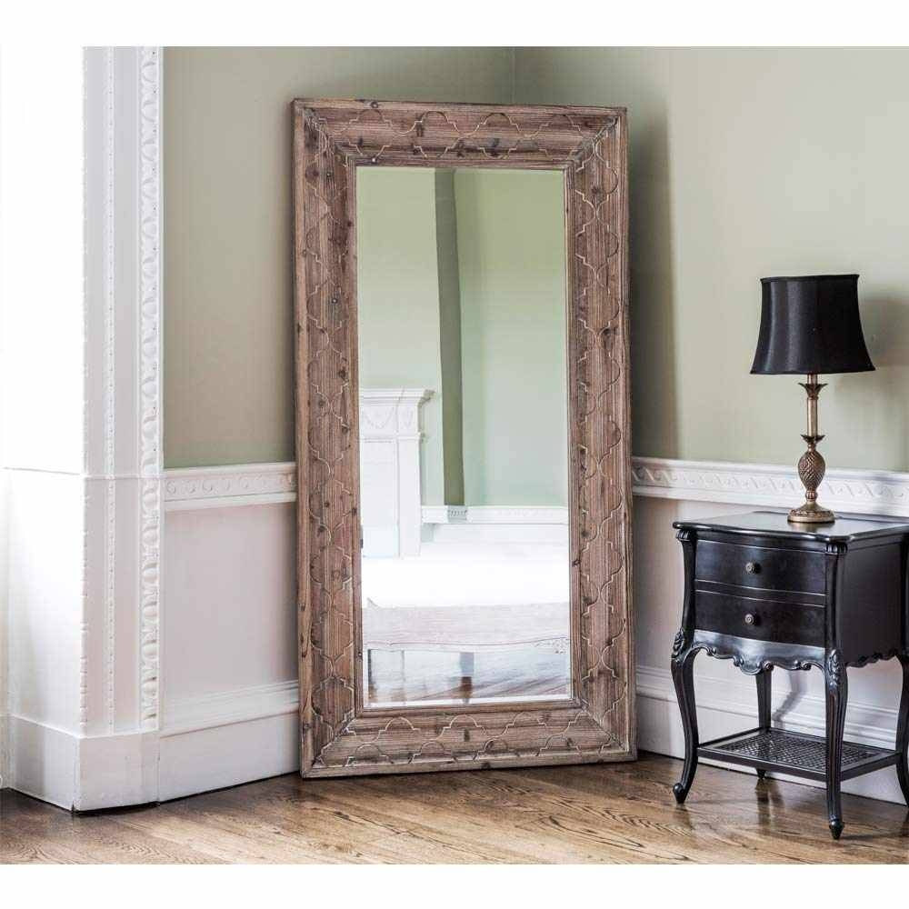 Homeware: Oval Full Length Standing Mirror | Large Floor Mirrors for Free Standing Oval Mirrors (Image 21 of 25)