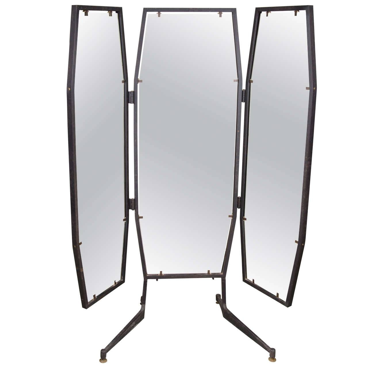 Homeware: Oval Full Length Standing Mirror | Large Floor Mirrors for Long Narrow Mirrors (Image 9 of 25)