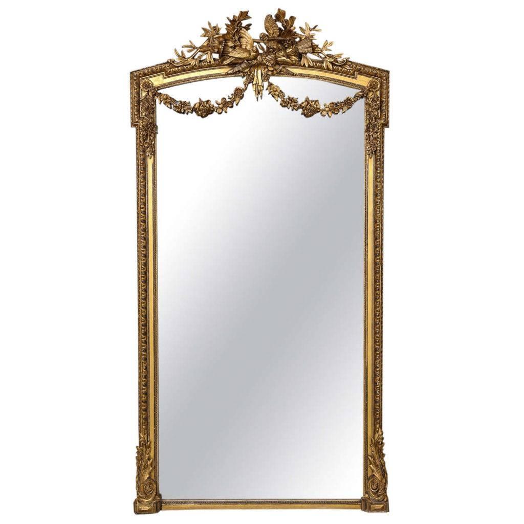 Homeware: Oval Full Length Standing Mirror | Large Floor Mirrors in Full Length French Mirrors (Image 22 of 25)