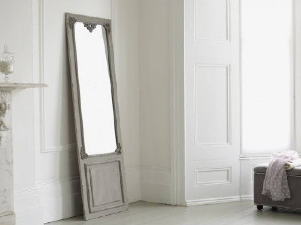 Homeware: Oval Full Length Standing Mirror | Large Floor Mirrors in Large Floor Length Mirrors (Image 18 of 25)