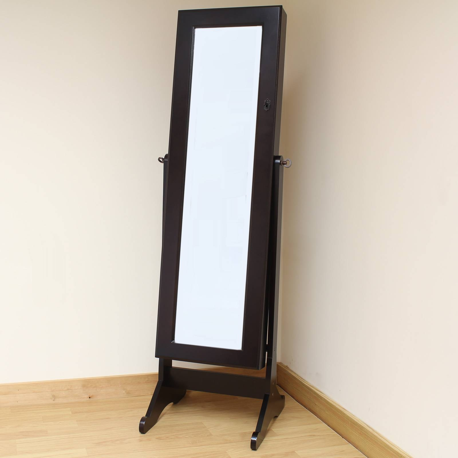 Homeware: Oval Full Length Standing Mirror | Large Floor Mirrors inside Cream Standing Mirrors (Image 20 of 25)