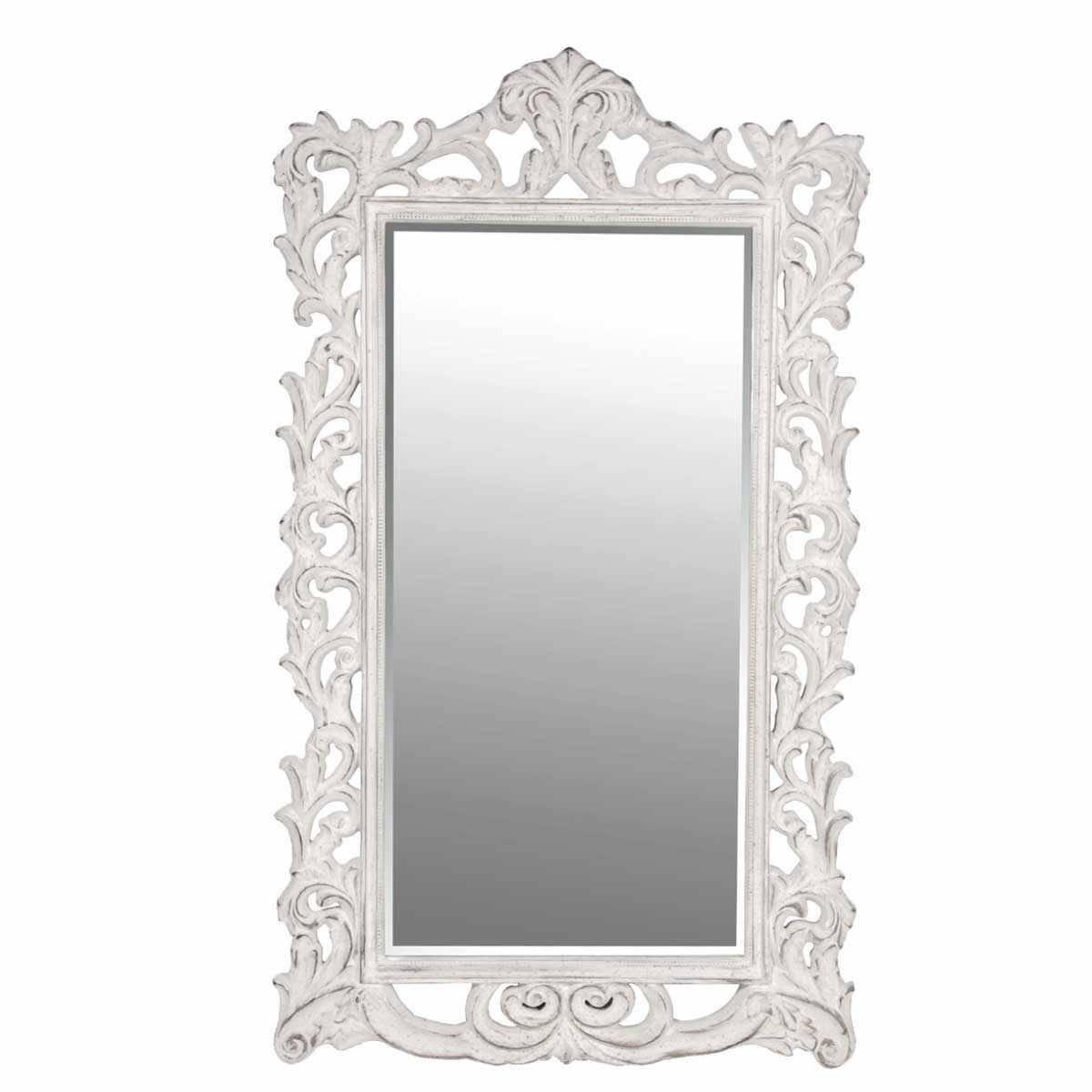 Homeware: Oval Full Length Standing Mirror | Large Floor Mirrors with Full Length French Mirrors (Image 23 of 25)