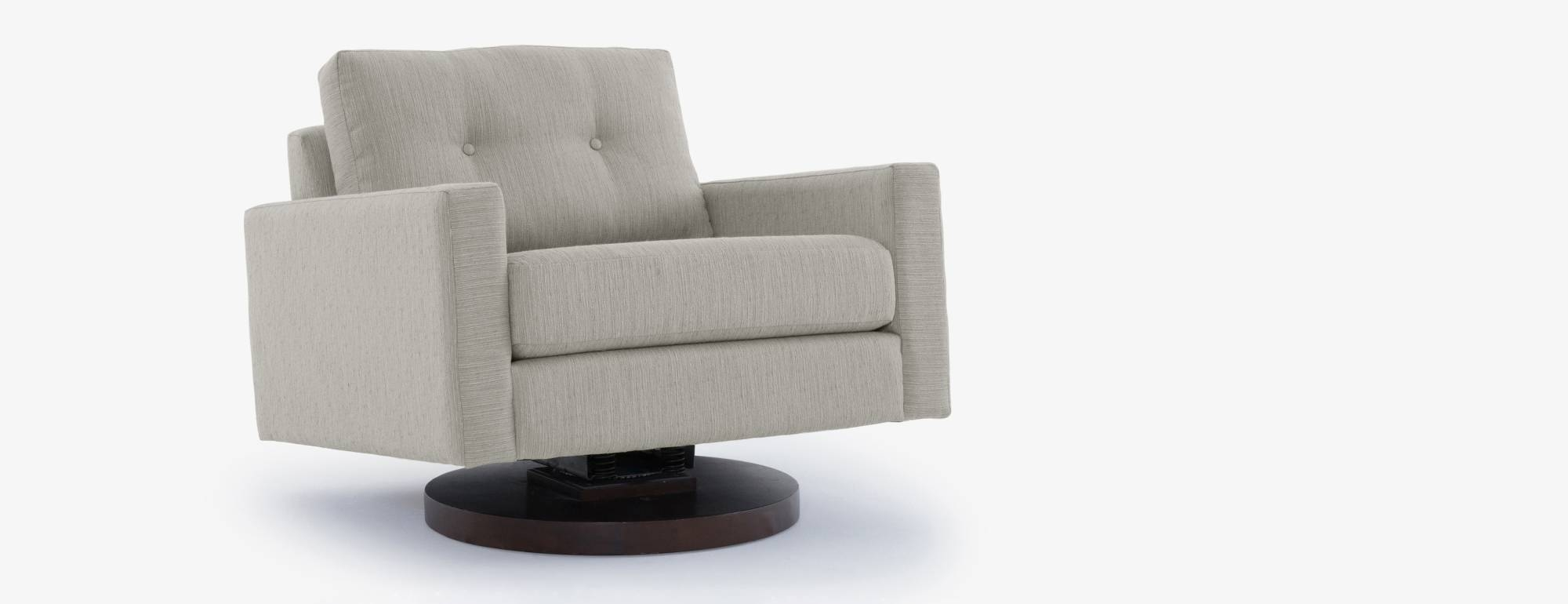 Hopson Rocking Swivel Chair | Joybird for Sofa With Swivel Chair (Image 19 of 30)