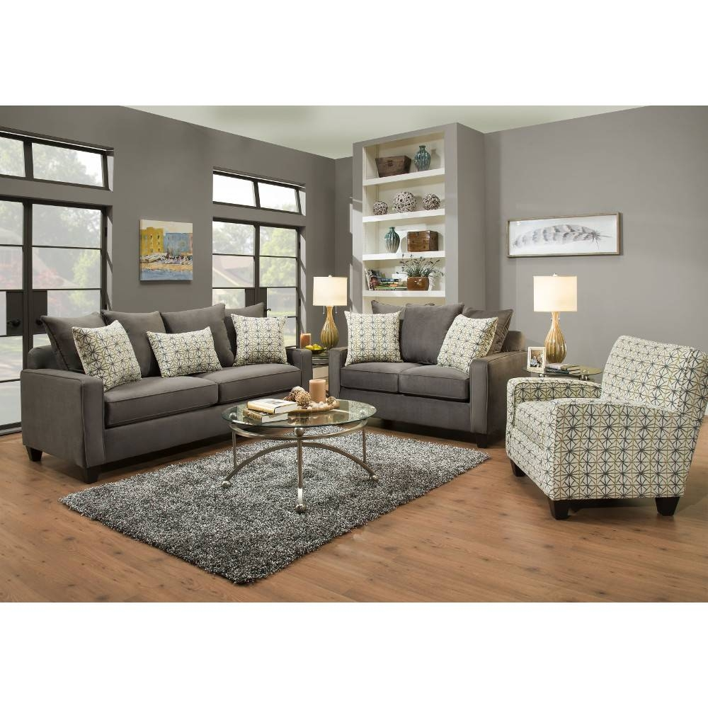 Horizon Living Room - Sofa & Loveseat (49H) : Living Room pertaining to Living Room Sofas (Image 11 of 30)