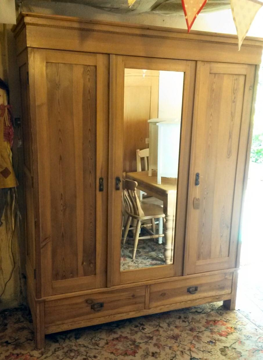 Hotwells Pine - Antique Pine Furniture regarding Victorian Pine Wardrobes (Image 5 of 15)