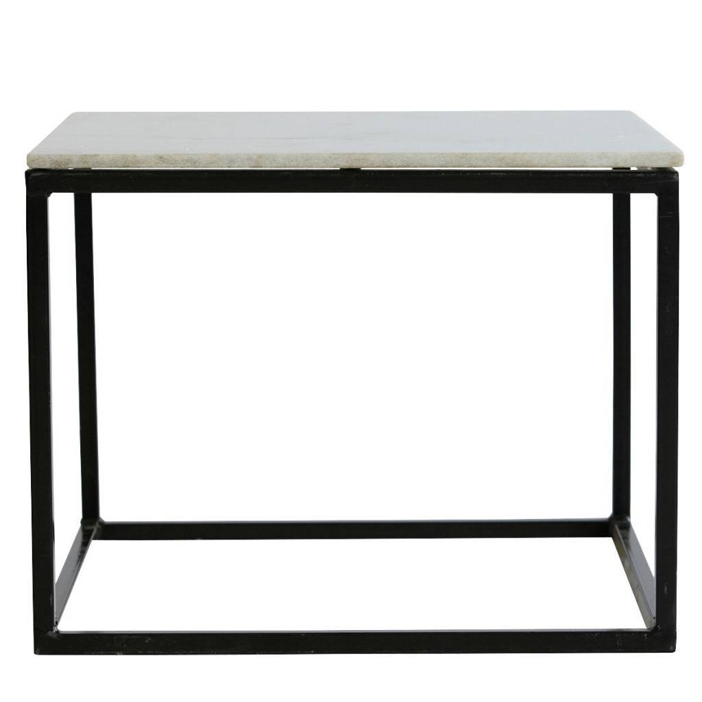 House Doctor Coffee Table Metal Marble - Living And Co. within Marble and Metal Coffee Tables (Image 16 of 30)