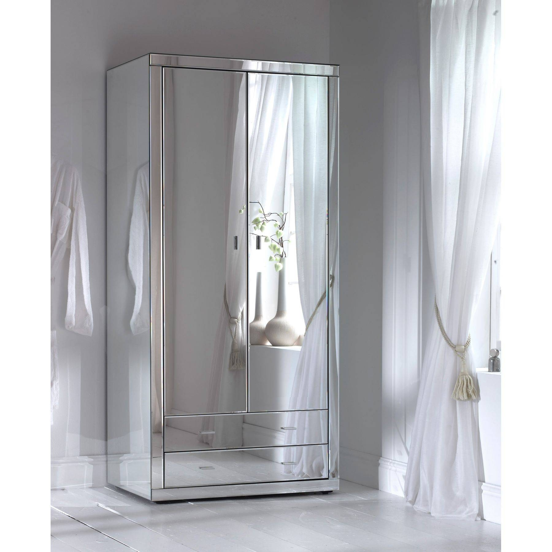 How To Build A Mirrored Wardrobe Pertaining To Corner Mirrored Wardrobes (View 6 of 15)