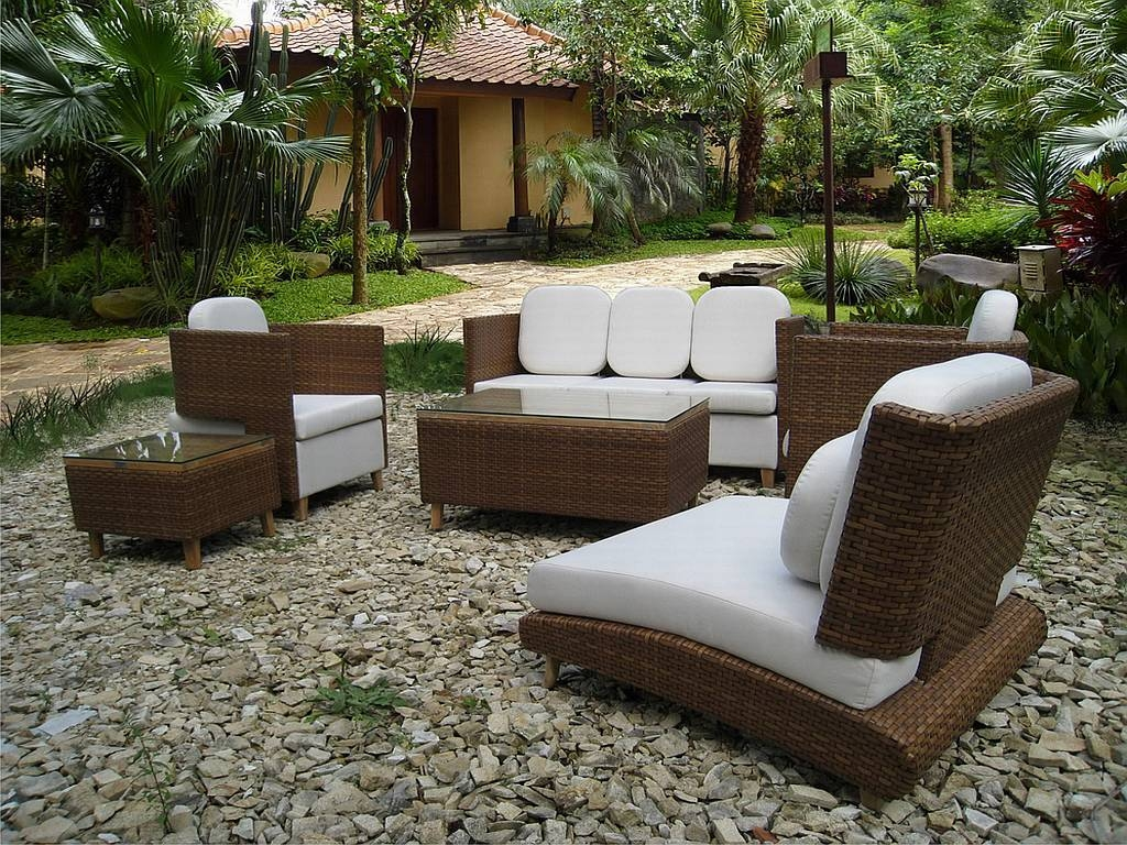 How To Choose Modern Garden Furniture? - Boshdesigns intended for Modern Rattan Sofas (Image 16 of 30)