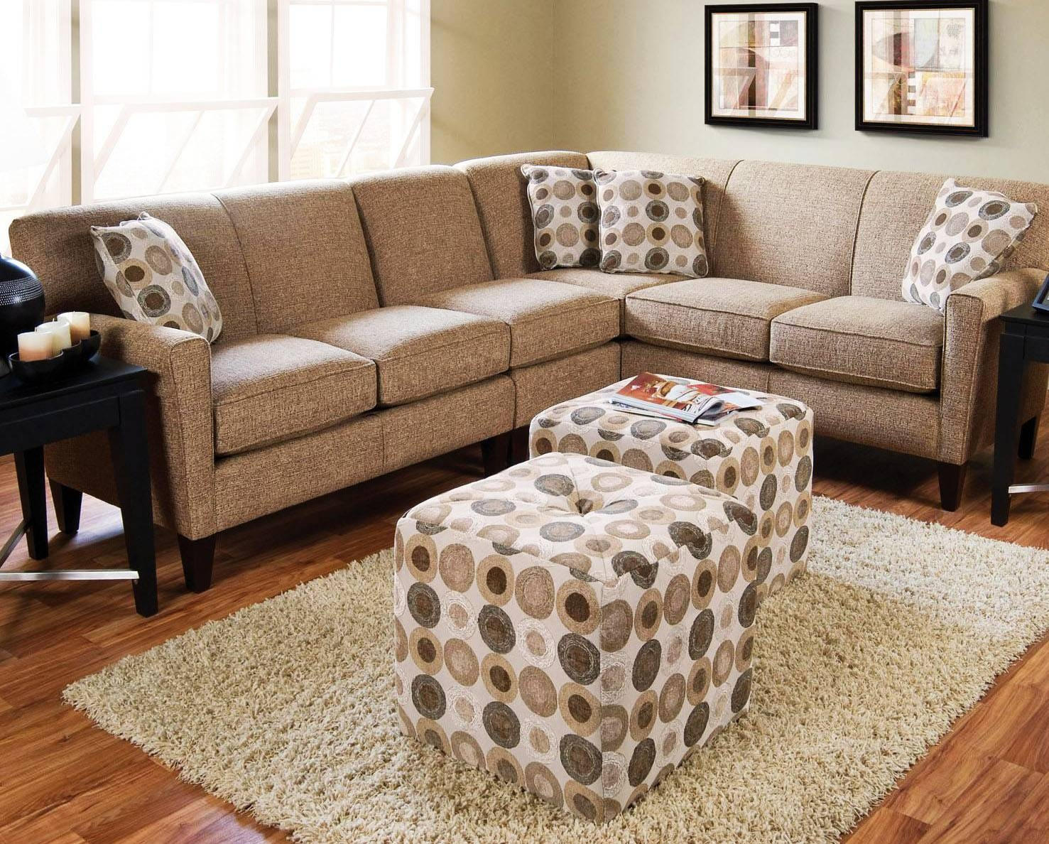 How To Choose Sectional Sofas For Small Spaces | Homefurniture within Small Sectional Sofas For Small Spaces (Image 13 of 25)