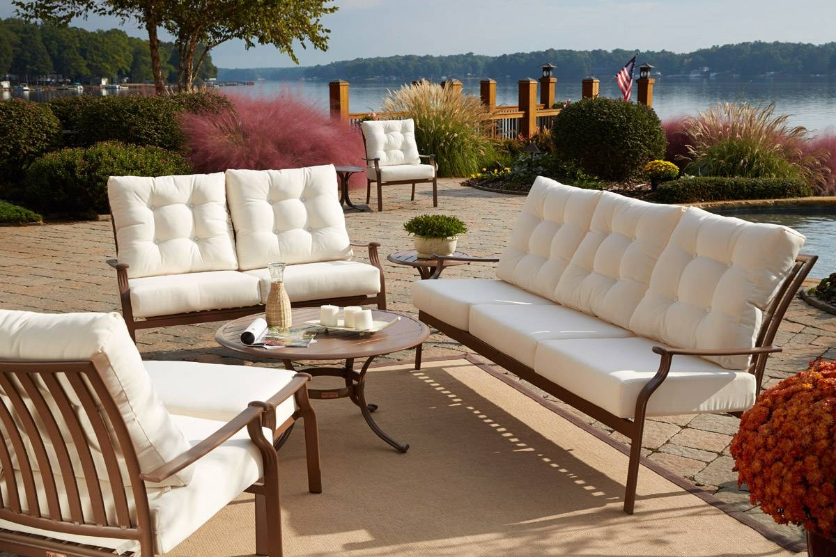 How To Choose The Best Material For Outdoor Furniture with Outdoor Sofa Chairs (Image 16 of 30)