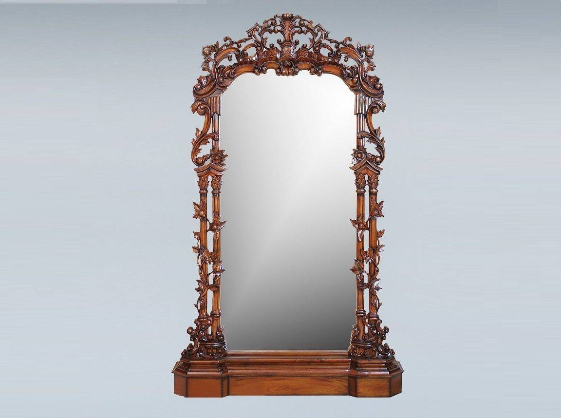 How To Decorate Standing Mirrors? | Best Decor Things Pertaining To Antique Free Standing Mirrors (View 4 of 25)