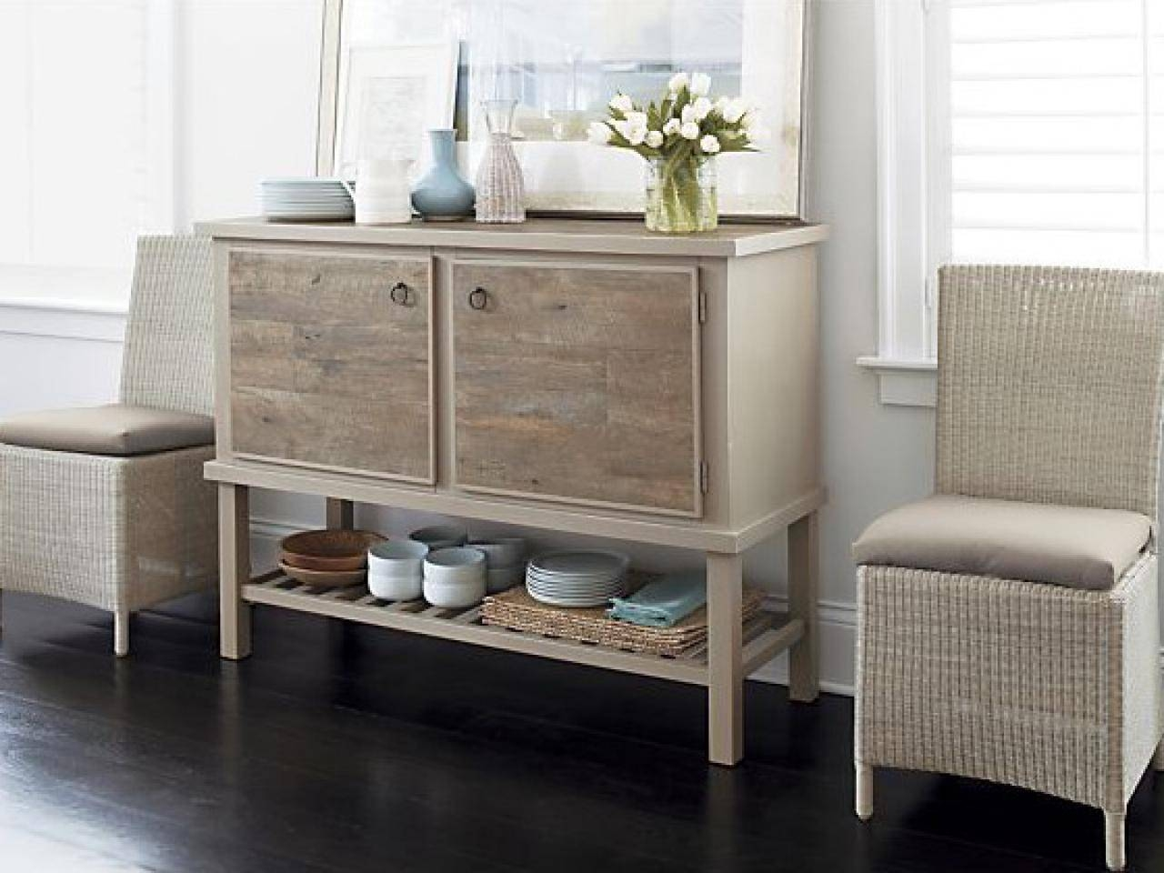 How To Distress Furniture | Hgtv within White Distressed Finish Sideboards (Image 23 of 30)