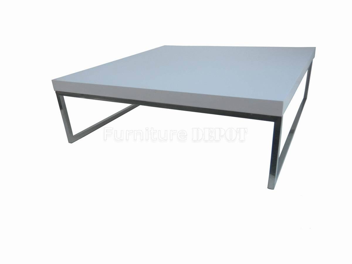 How To Find A Perfect White Coffee Tables – Large White Coffee within White and Chrome Coffee Tables (Image 14 of 30)