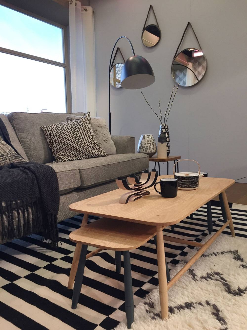 How To Get A Scandi Look Living Room For Interior Design – Sophie inside M&s Coffee Tables (Image 5 of 30)