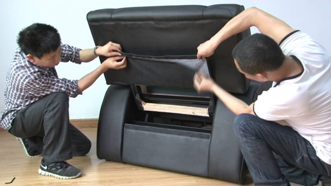How To Install Foot Massage Sofa Fb05 - Youtube throughout Foot Massage Sofa Chairs (Image 20 of 30)
