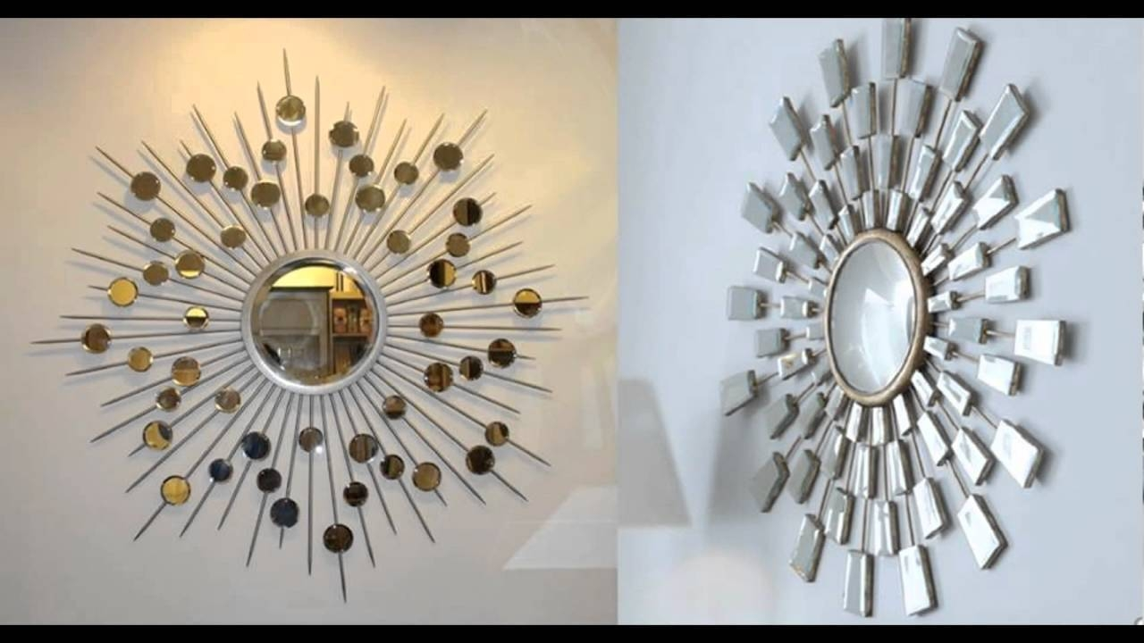How To Make A Sun Mirror Stepstep – Youtube Within Large Sun Shaped Mirrors (View 10 of 25)