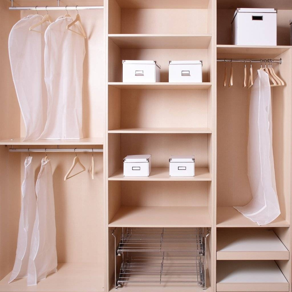 How To Organise A Small Wardrobe | Popsugar Fashion Australia in Small Wardrobes (Image 6 of 15)
