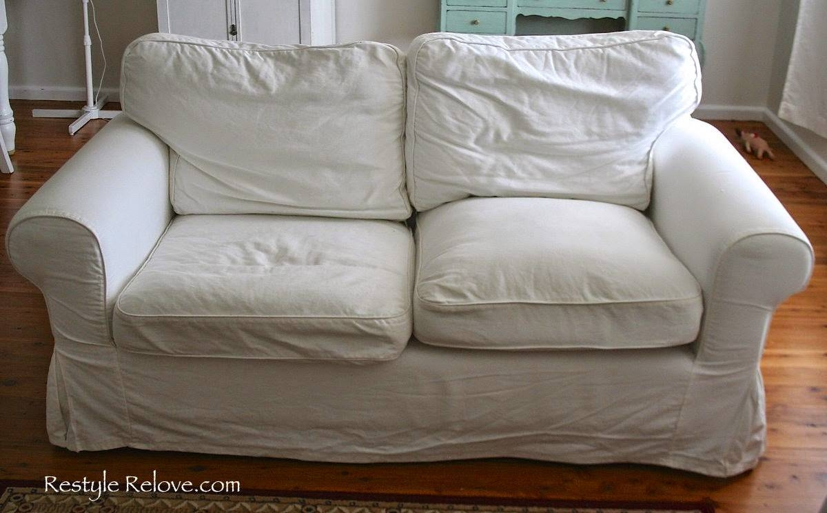 How To Restuff Ikea Ektorp Sofa Cushions Cheap, Easy And Quick for Sofa Cushions (Image 19 of 30)