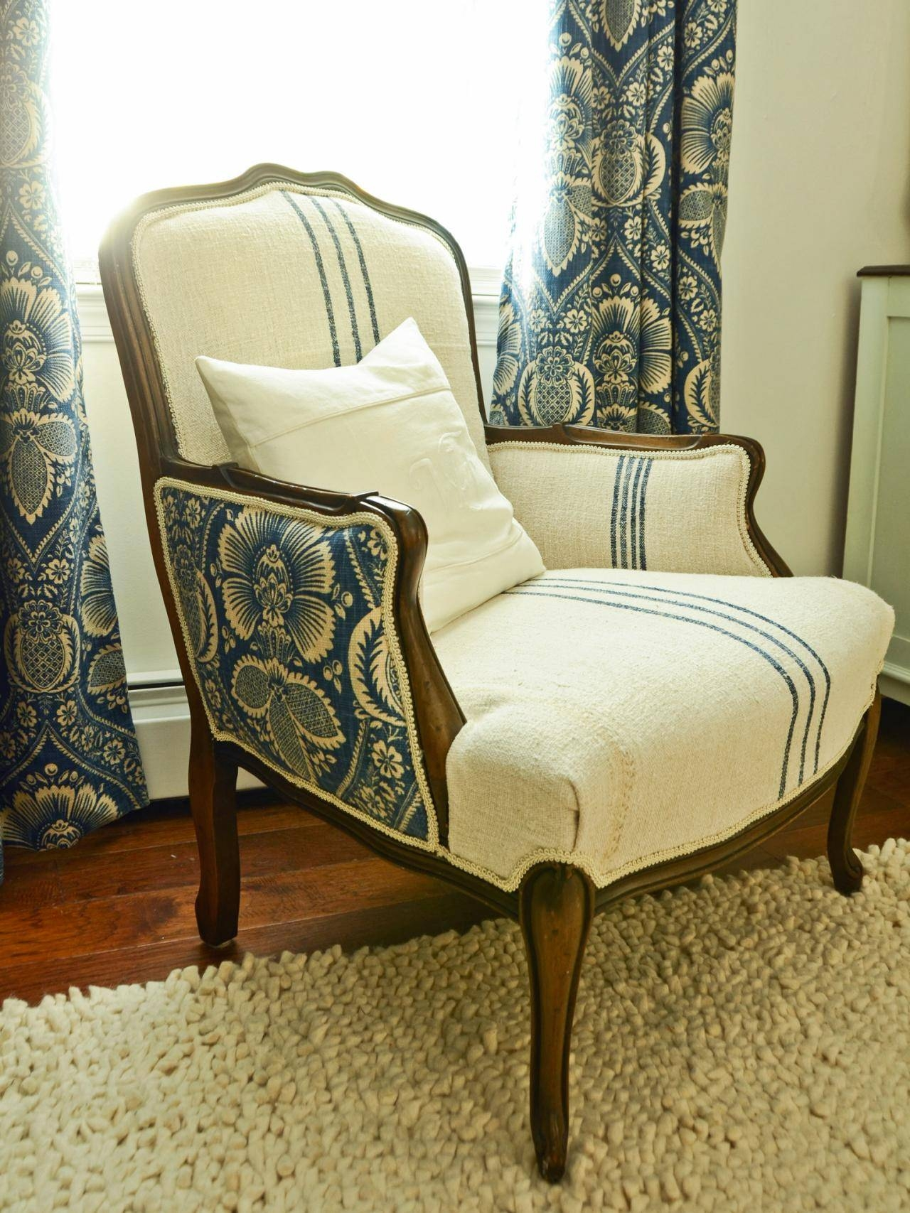 How To Reupholster An Arm Chair | Hgtv throughout Small Arm Chairs (Image 16 of 30)