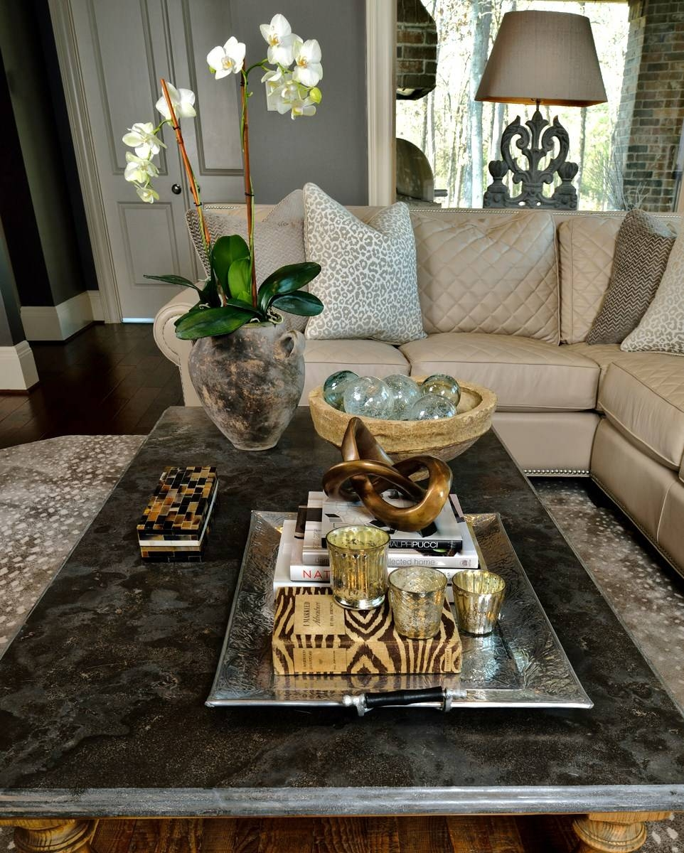 How To Style Your Coffee Table — An Interior Designer Reveals Her intended for Mercury Glass Coffee Tables (Image 23 of 30)