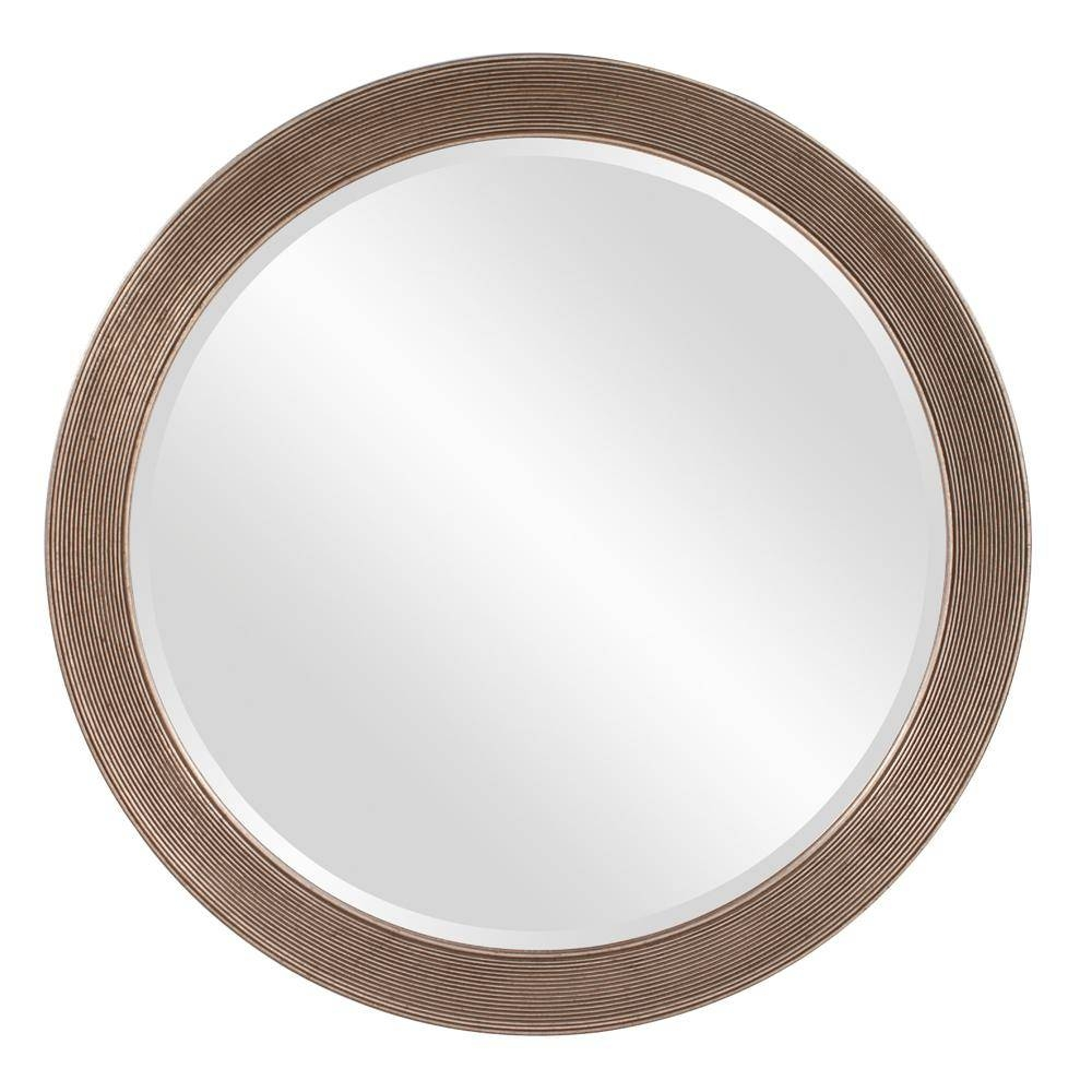 Howard Elliott 36 In. X 36 In. Virginia Round Mirror-92092 - The for Silver Oval Mirrors (Image 12 of 25)