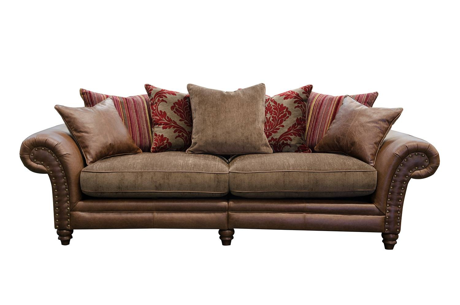 Hudson 4 Seater Sofa - Alexander And James for Four Seat Sofas (Image 21 of 30)