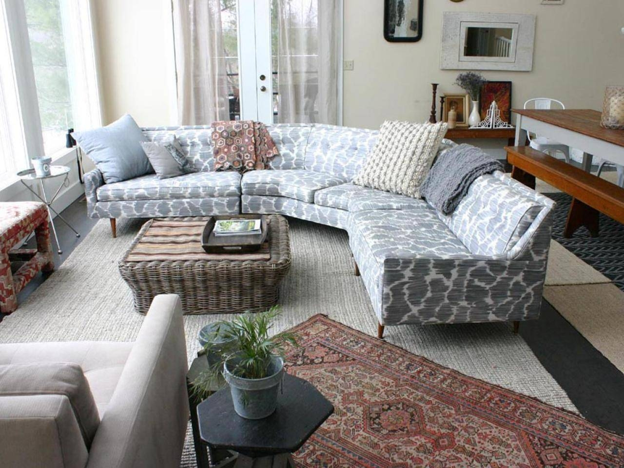 Huge Sectional Sofa. Rectangle Grey Wooden Rug Sectional Sofas regarding Huge Sofas (Image 11 of 30)