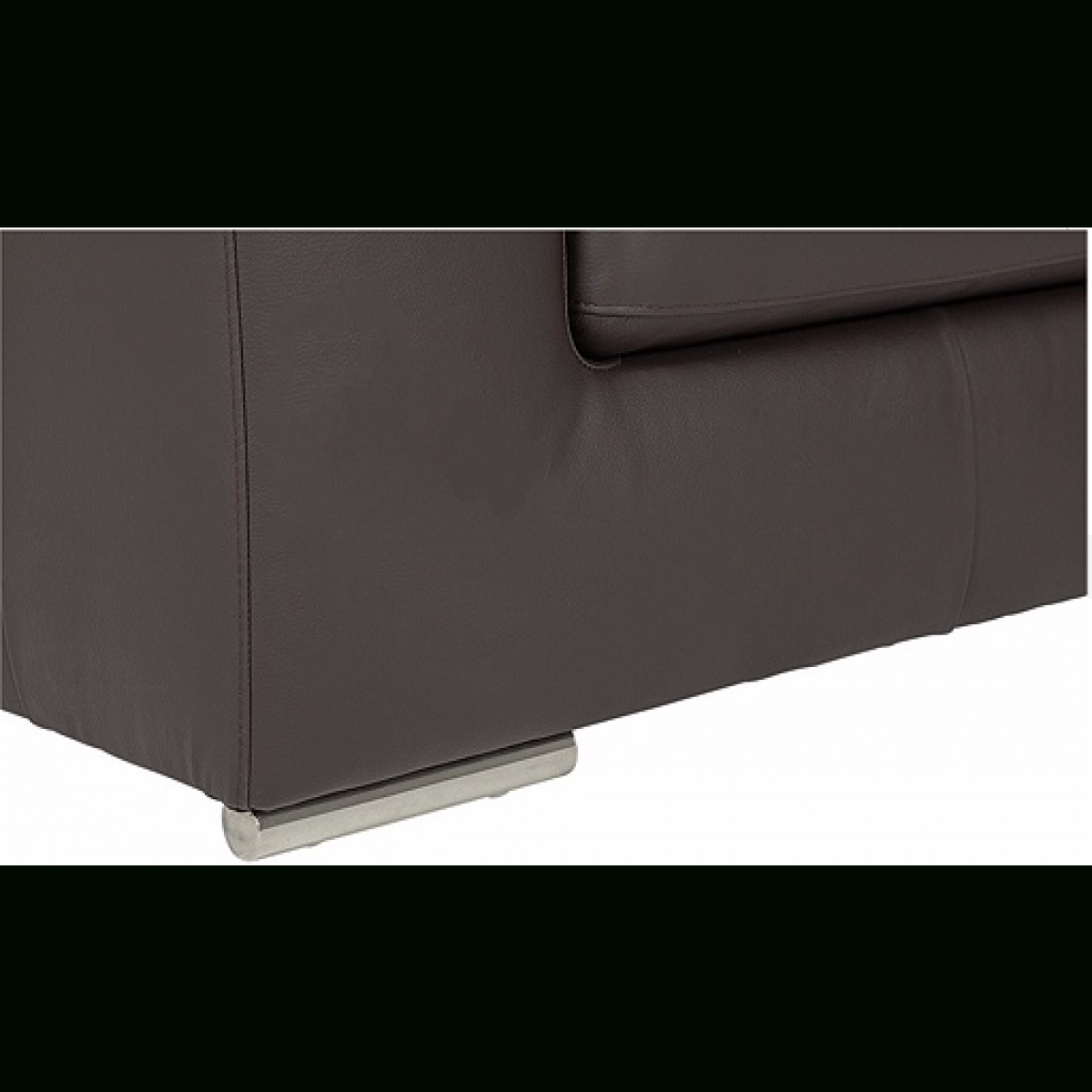 Hygena Valencia Leather Right Hand Corner Sofa - Black - Furnico pertaining to Corner Sofa Leather (Image 11 of 30)