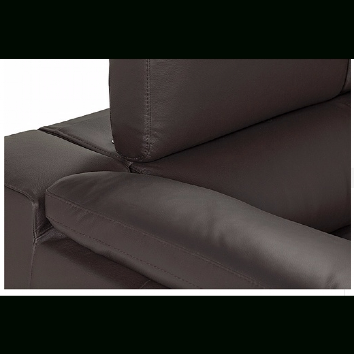 Hygena Valencia Leather Right Hand Corner Sofa - Black - Furnico regarding Corner Sofa Leather (Image 12 of 30)