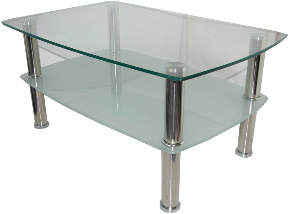Ibiza Round Glass And Chrome Coffee Table Accent Tables Living in Wood Chrome Coffee Tables (Image 16 of 30)