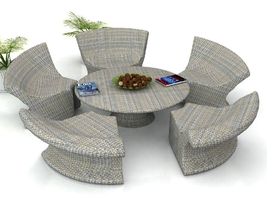 Ideas For Decorating Rattan Furniture — Modern Home Interiors throughout Modern Rattan Sofas (Image 17 of 30)
