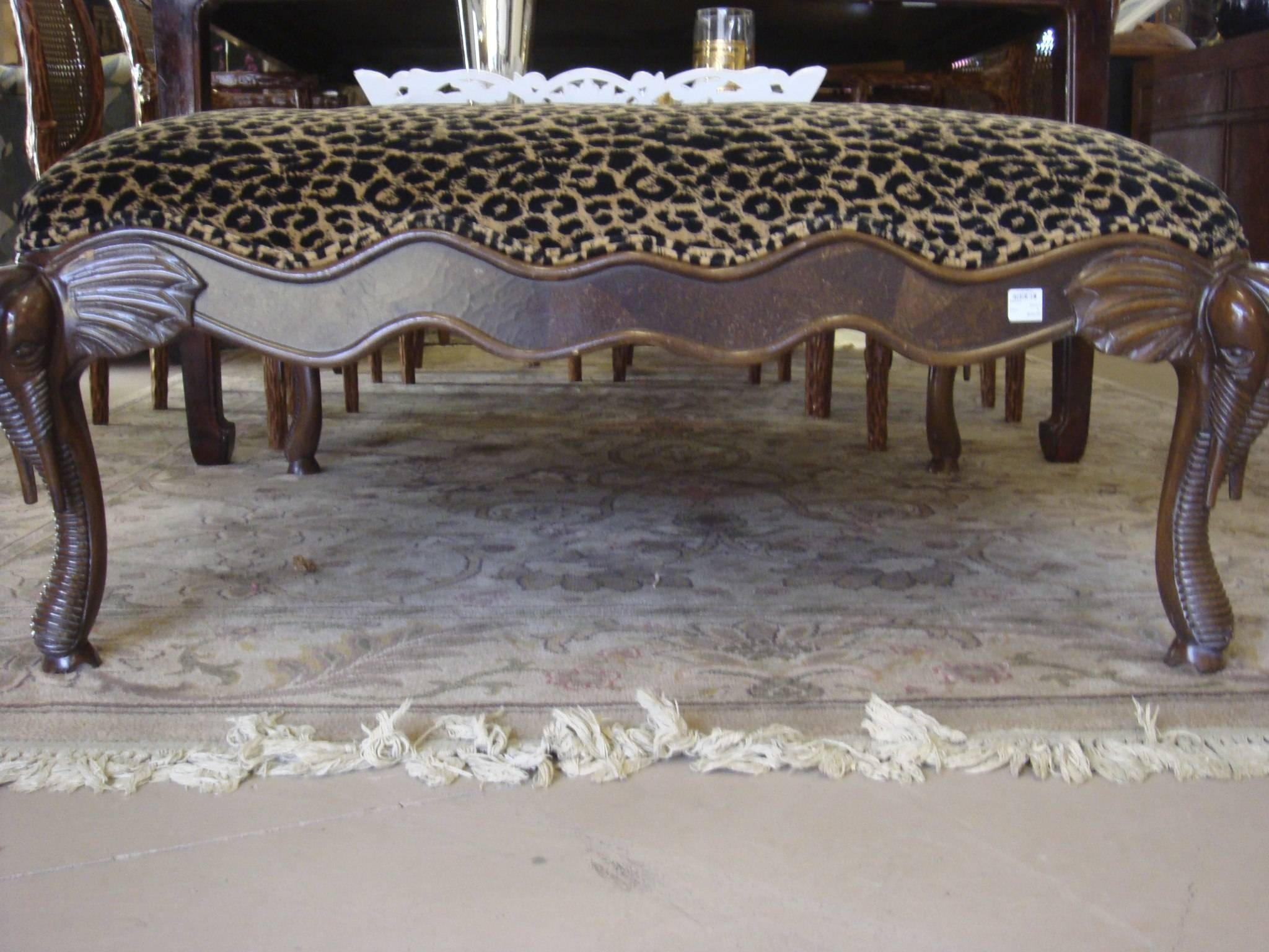 Ideas For Leopard Ottoman Design #20554 in Leopard Ottoman Coffee Tables (Image 15 of 30)