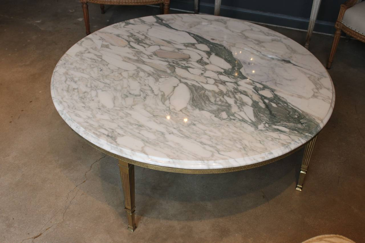 Ideas Of A Round Marble Coffee Table inside Marble Round Coffee Tables (Image 23 of 30)
