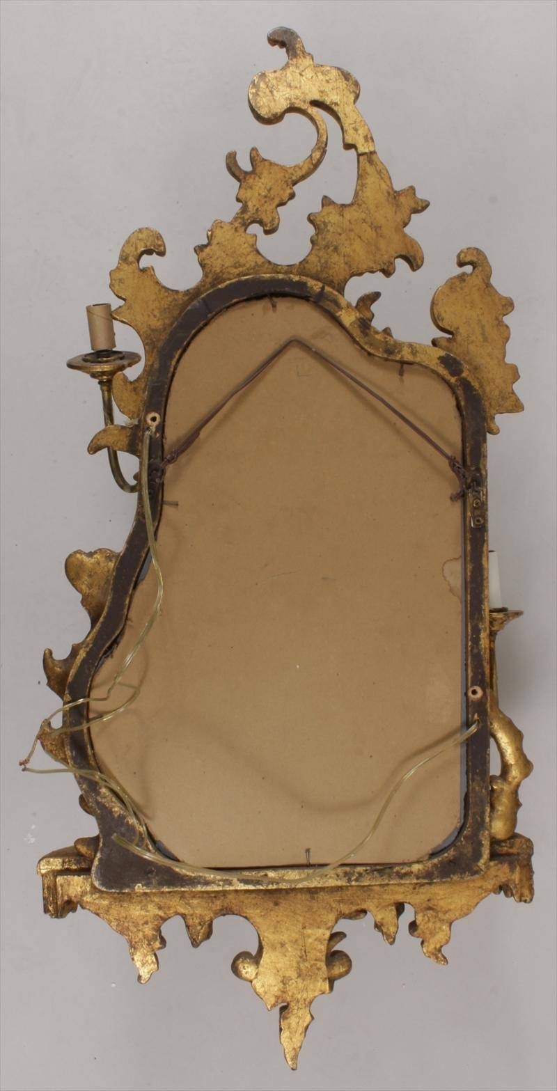 Igavel Auctions: Pair Of Chinese Chippendale Style Gilt Girandole within Chinese Mirrors (Image 20 of 25)