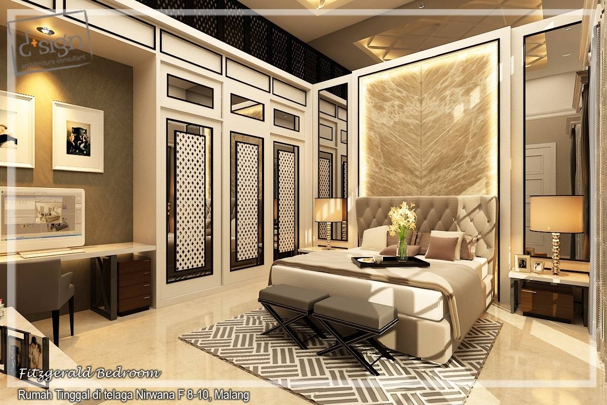 Ijen Nirwana Residence – A Design Venture intended for Solid Wood Built in Wardrobes (Image 22 of 30)