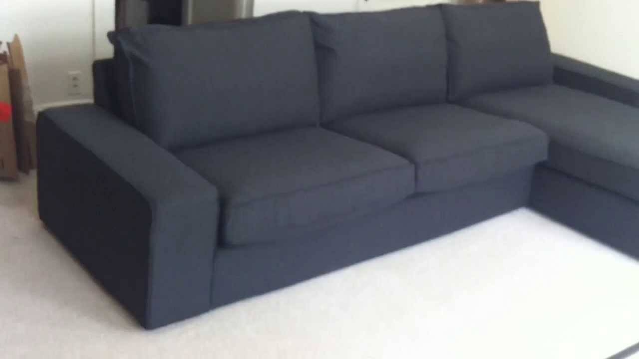 Ikea Kivik Sofa Assembly Service Video In Upper Marlboro Md within Ikea Chaise Lounge Sofa (Image 15 of 30)