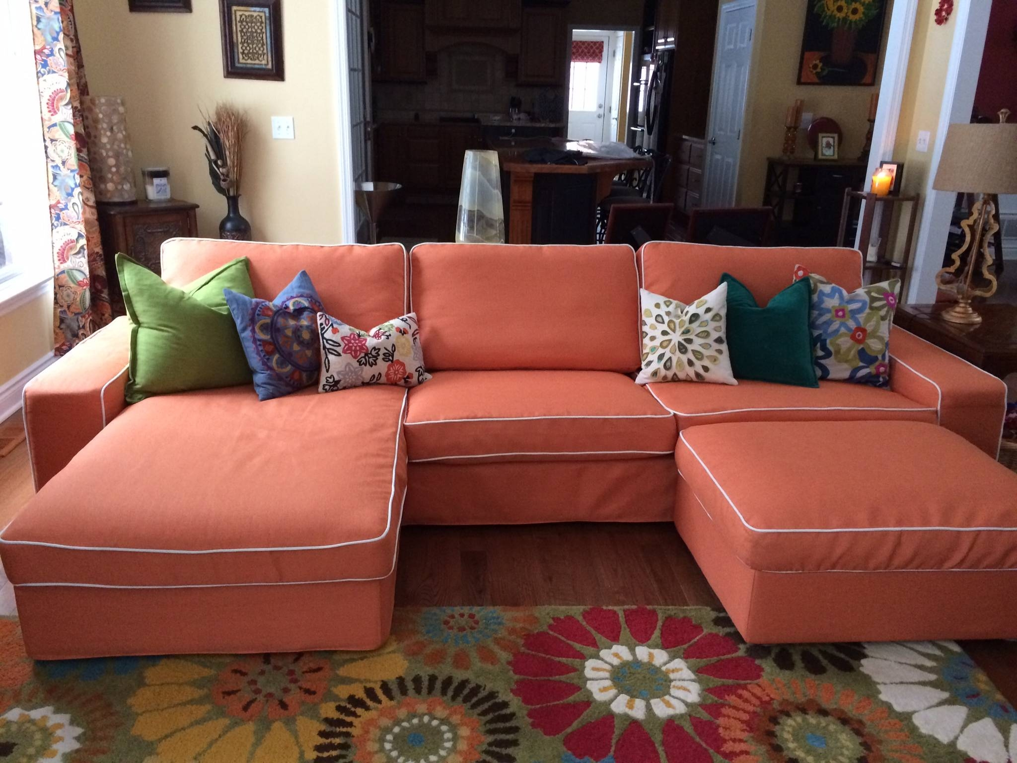 Ikea Kivik Sofa Series Review - Comfort Works Blog & Design with Lillberg Sofa Covers (Image 12 of 30)