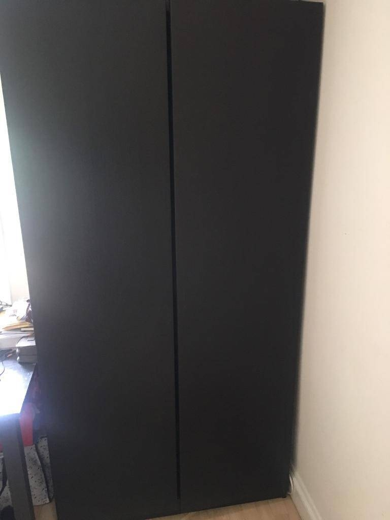 Ikea Pax Tall Ads Buy & Sell Used - Find Right Price Here throughout Tall Double Rail Wardrobes (Image 14 of 30)